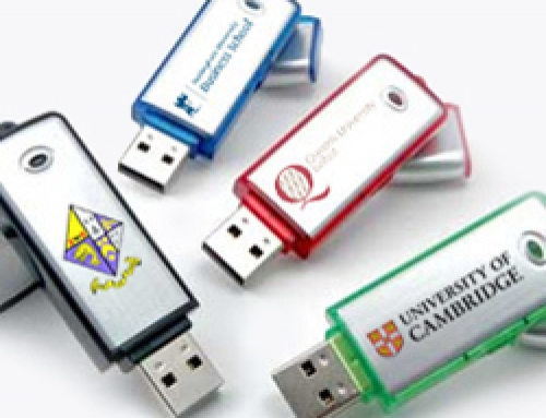 USB Flash Drives as Leaver's Gifts